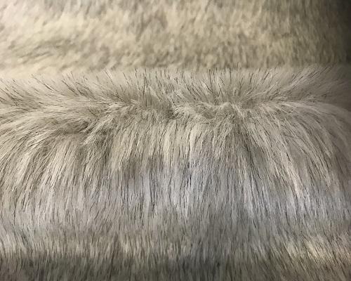 Budget imitatiebont Kunst stof in wit/grijs – YF286 White/Grey