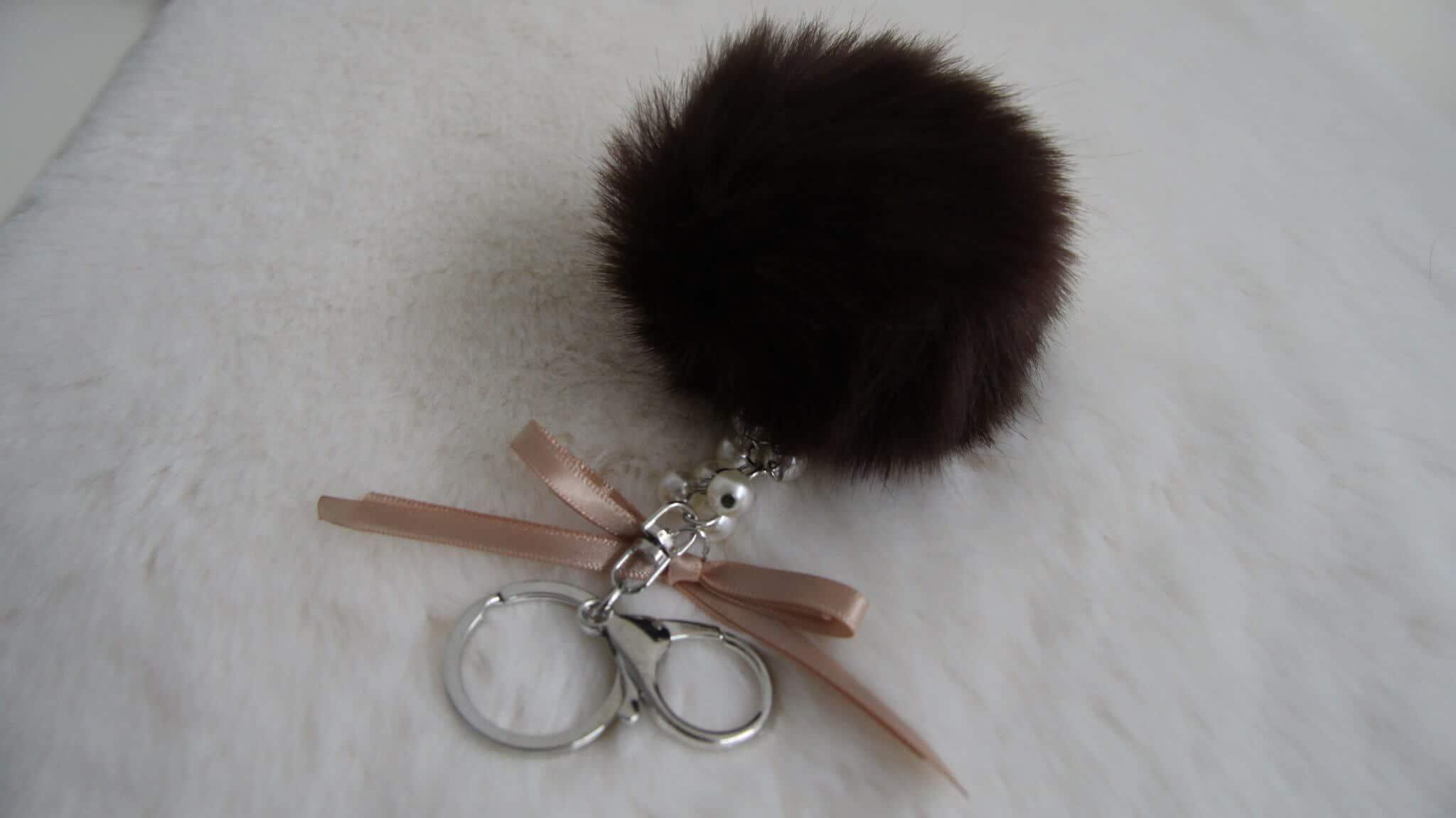 fluffy sleutelhanger