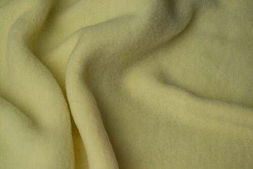 Fleece stof Lambskin fleece lemon 32