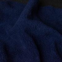 Fleece stof Lambskin fleece navy 3