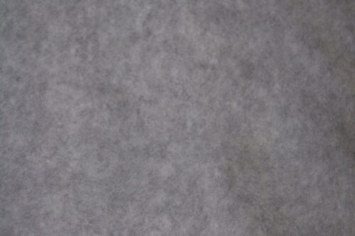 Fleece stof Lambskin fleece silver/grey melange