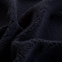 Imitatiebont Superzachte marineblauw sherpa fleece imitatiebont stof per meter – 2R307 navy