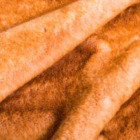 Imitatiebont Abrikoze kanijn imitatiebont stof per meter – 3090 Apricot