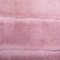 Imitatiebont Horizontale gestreepte roze konijnenbont stof per meter – 2R334 Pink