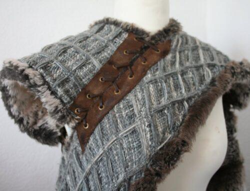 Isauregyss Costuming: Arya Starck's imitatiebont kaap