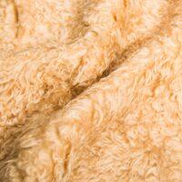Budget imitatiebont Beige wit laaggeprijsde teddybontstof per meter – YF 305 Lt.Brandy