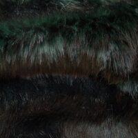 Imitatiebont Donkergroen vos imitatiebont stof per meter – 6012 Dark Green