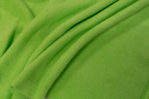 Fleece stof Lambskin fleece kiwi-groen