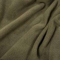 Fleece stof Lambskin fleece kaki-groen