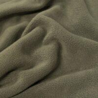 Fleece stof Lambskin fleece olijfgroen
