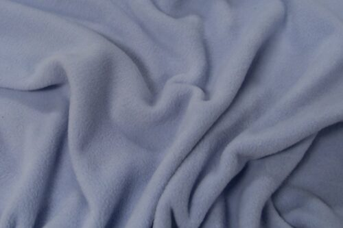 Fleece stof Lambskin fleece pastelblauw