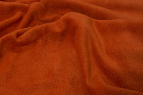 Fleece stof Lambskin fleece roest