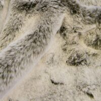 Imitatiebont Bruin/Wit konijn imitatiebont stof per meter – 1633 Lt.Brown/White