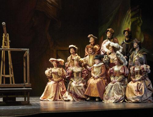 ComédieFrançaise: historische kostuums gecreëerd van onze imitatie bontstoffen