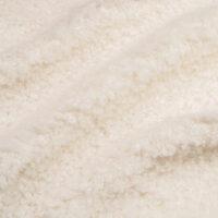 Imitatiebont Imitatiebont stof bij de meter, creme, teddy, 100% gerecycled – 2R402 Cream