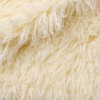 Imitatiebont Langharig Imitatiebont stof per meter, Crème, Mongoolse Lam – 3129 Cream