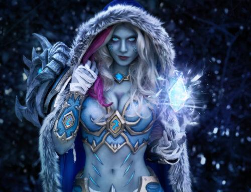 Jaina (World of Warcraft) en Valkyrie (Fortnite) door Cinderys